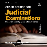 Crash Course for Judicial Examinations by Shailender Malik, DJS