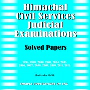 Himachal Civil Services Judicial Examinations by Shailender Malik