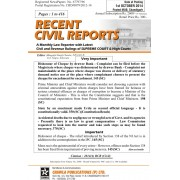 Recent Civil Reports - 2016
