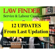 Updation - Law Finder Service & Labour Cases