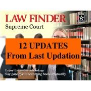 Updation - Law Finder Supreme Court