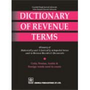 Dictionary of Revenue Terms