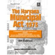 Haryana Municipal Act, 1973 by Bhagatjit Singh