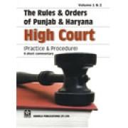 Punjab & Haryana High Court Rules & Orders