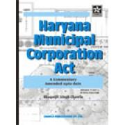 Haryana Municipal Corporation Act, 1994 by Bhagatjit Singh Chalwa