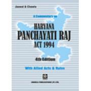 Haryana Panchayati Raj Act by Gurdial Singh Jaswal and Bhagatjit Singh